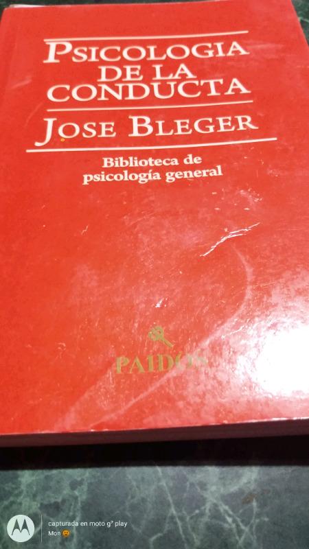 Psicología de la conducta José Bleger 100$