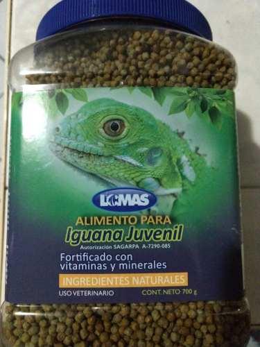 Alimento Para Iguana Vitaminado 700gr.