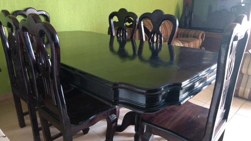 Comedor de Cedro 6 sillas