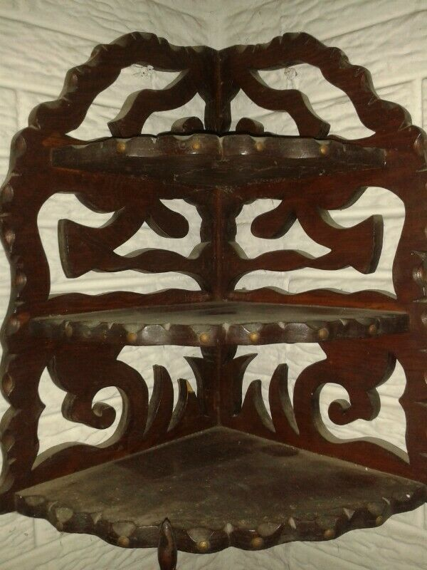 Esquinero madera interior