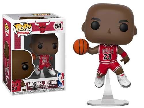 Funko Pop Basketball Michael Jordan 54 Figura De Vinil