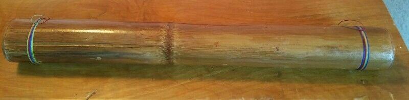 Palo de lluvia o agua de 50 cm hecho de bambú NUEVO