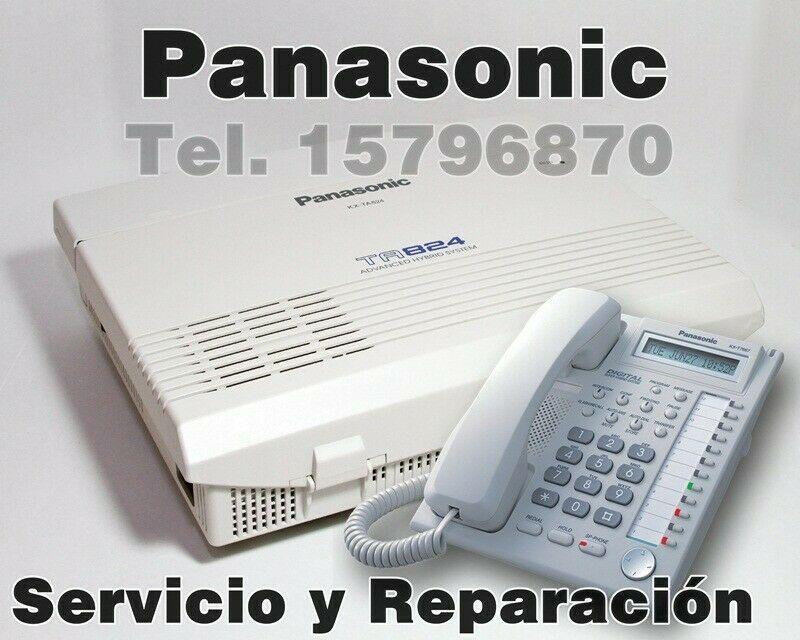 Reparación y Mantenimiento de Conmutadores Panasonic