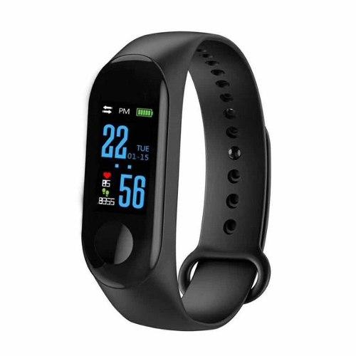 Smartband Pulsera Inteligente Reloj Contra Agua M3