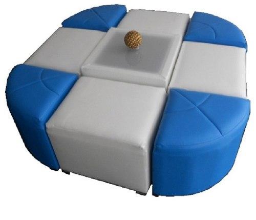 .sala Lounge P/8 Personas Cubos Y Triángulos!!