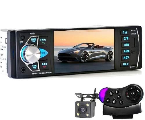 Autoestereo Pantalla 4.1 Camara Mirror Link Aux Bluetooth..