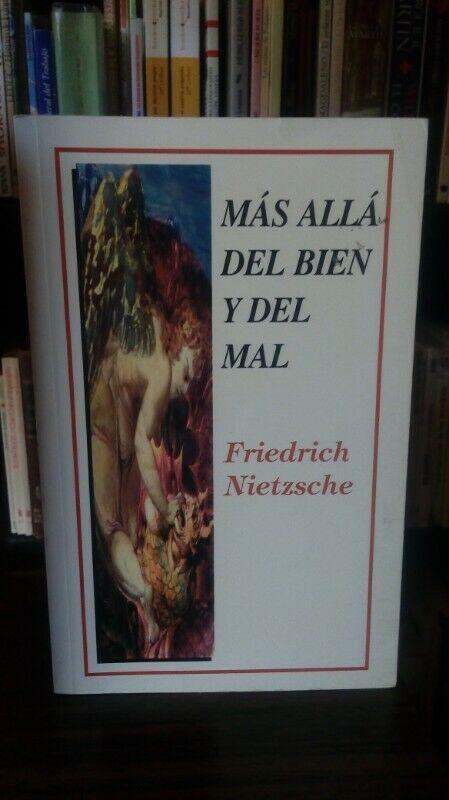 Más Allá del Bien y del Mal, Friedrich Nietzsche