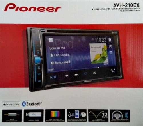 Pantalla Pioneer Avh-210ex 2din 6.2 Bluetooth / Android