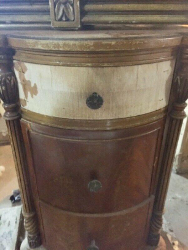 Peinador antiguo estilo Luis XV