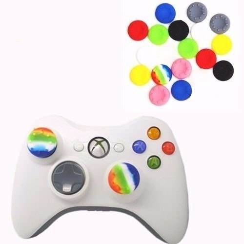 2 Par De Gomas Grips Joystick Control Xbox Ps3 Ps4 Xbox One