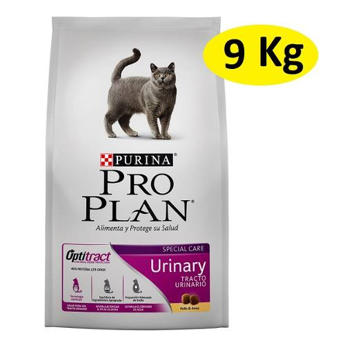 9kg Alimento Croqueta Purina Proplan Gato Urinary Optitract