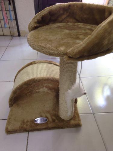 Centro De Entrenamiento Para Gato Con Escondite