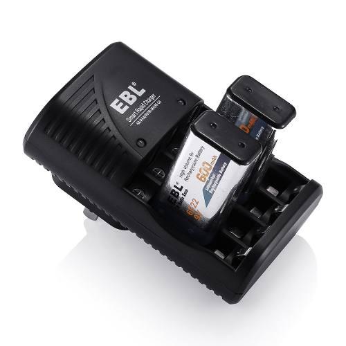 Kit 2 Baterias 9v Recargables Mas Cargador Y Envío Incluido