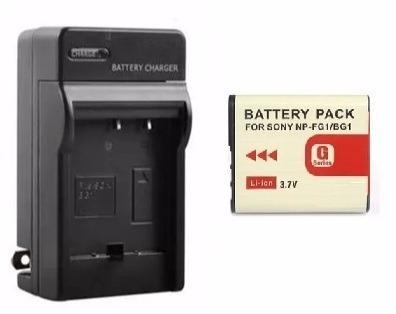 Pack Cargador Y Batería Para Sony Np-bg1 Cybershot