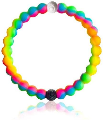 Pulsera Brazalete Color Arcoiris Talla M Moda Genial!!