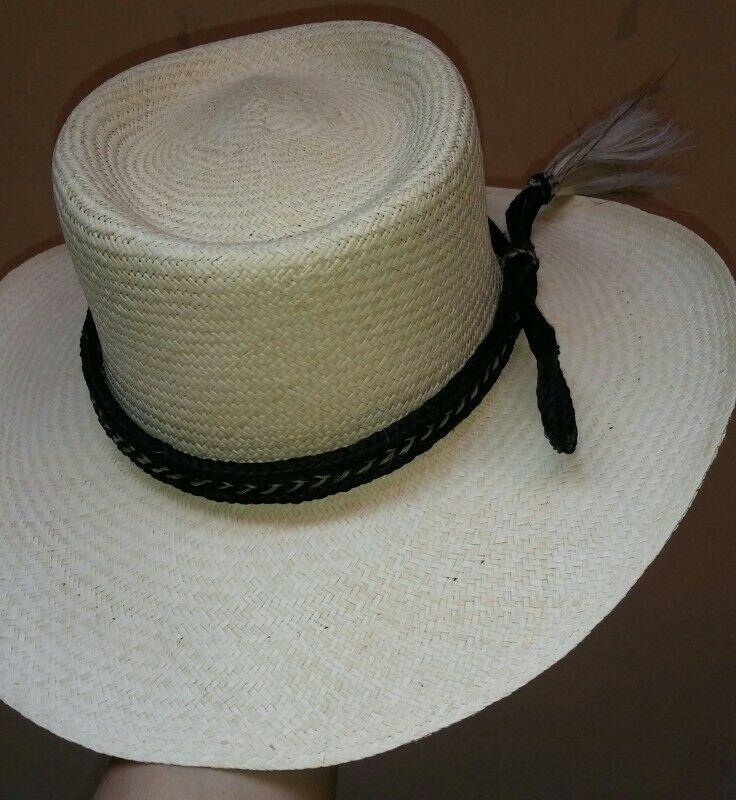 Toquilla de cerda (crin cola de caballo) para sombrero con