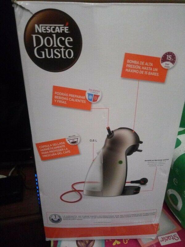 cafetera nescafe dolce gusto nueva