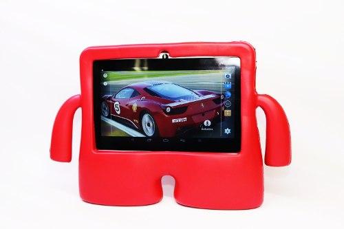 Tablet 7 Niños Quadcore 8 Gb Android Hd Funda Uso Rudo