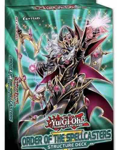 Yugioh Set 3 Order Of Spellcasters Structure Deck Nuevo