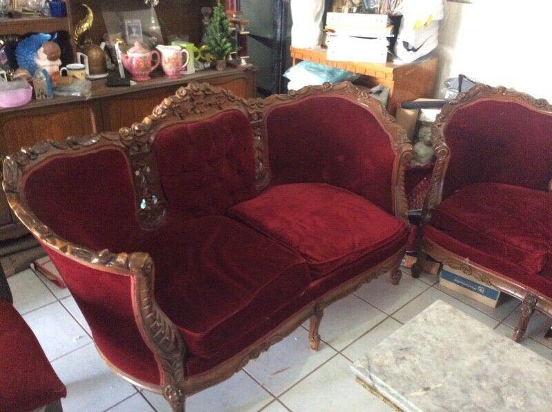 Hermosos sillones Luis XV