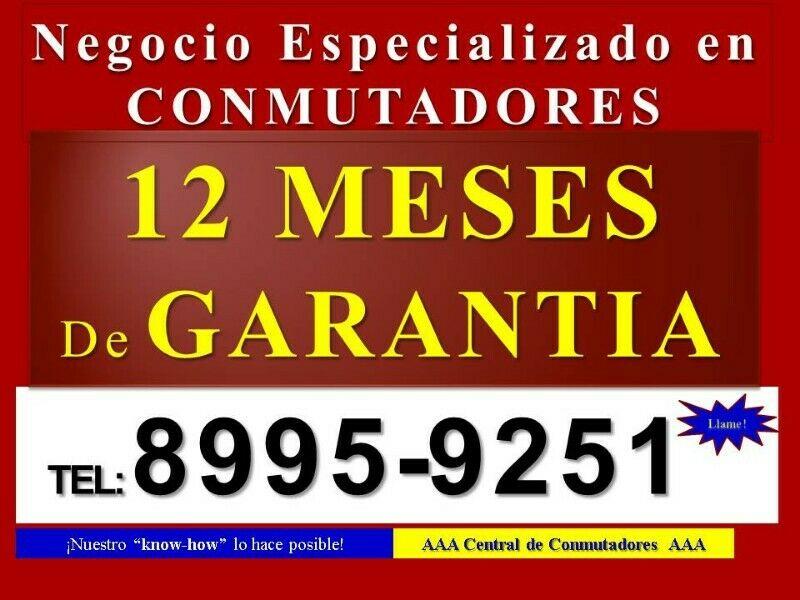 Negocio Especializado en Conmutadores Telefónicos [12 meses