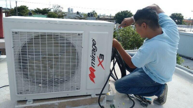 Limpieza y Servicio de Reparación de Aire acondicionado