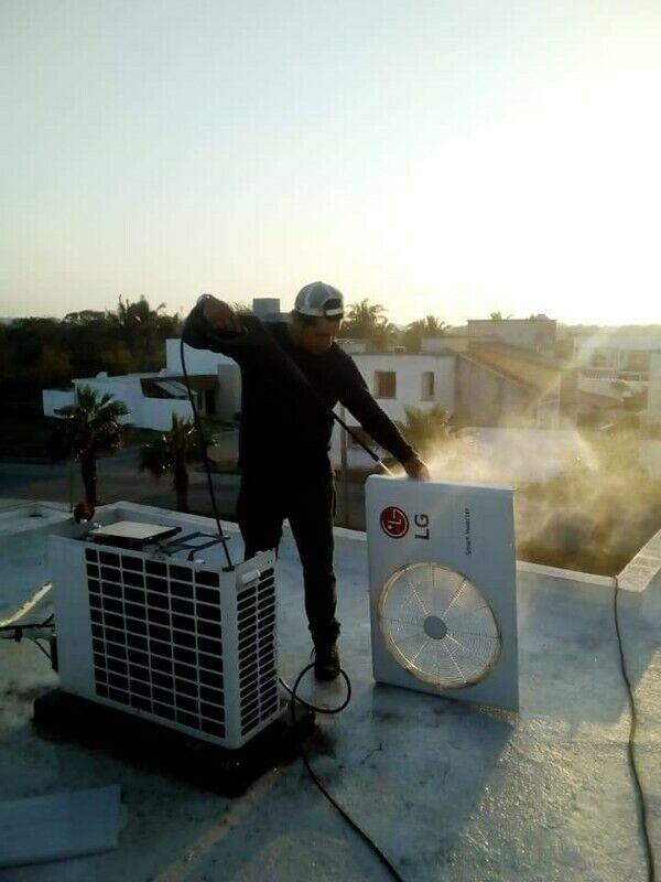 Mantenimiento y Limpieza de Minisplit Y Climas