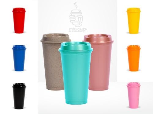 Paquete 103 Vasos Reusables Para Cafe Tipo Starbucks