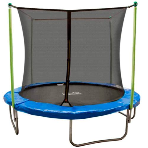 Trampolin Brincolin 8 Pies 2.4mts Reforzado Infantil Red