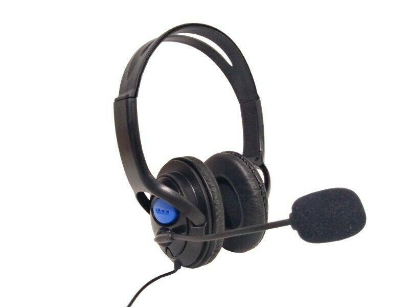 Audífonos On Ear Alámbricos Con Micrófono Marca Megafire