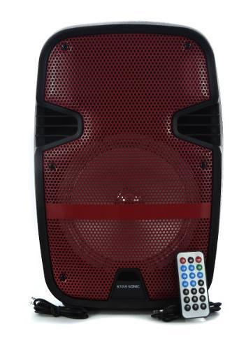 Bafles Amplificados Bocina 8 Pulgadas Bluetooth Starsonic 81