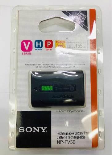 Batería Para Videocámara Sony Handycam Np-fv50 Original