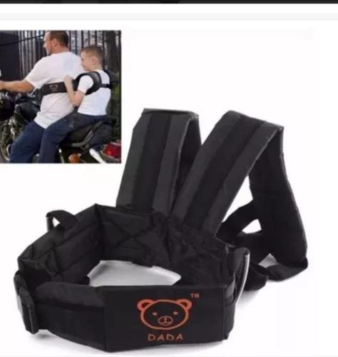 Cinturon De Seguridad Para Niño De Moto Con Arnes De