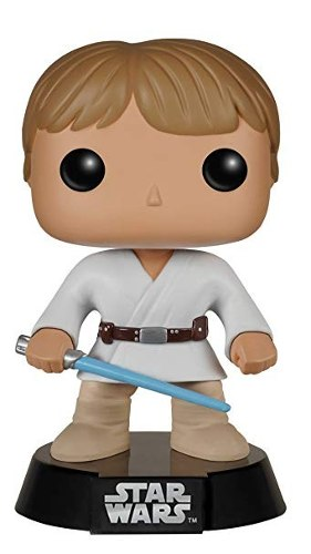 Funko Pop: Figura Star Wars Luke Skywalker De Tatooine Bobbl