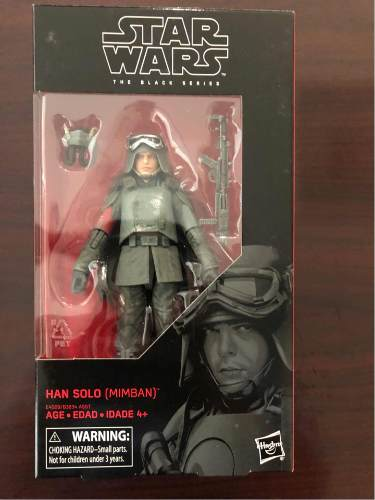 Han Solo Mimban Black Series Star Wars
