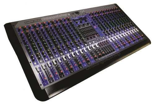 Mezcladora Stereo 24ch Bluetooth Usb Efectos Kmx-s24u