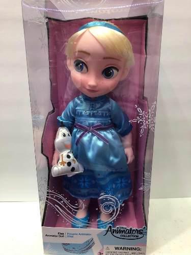Muñecas De Disney Store Animators De Frozen Elza