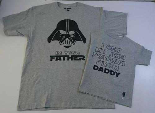 Par De Playeras Día Del Padre Papá Star Wars