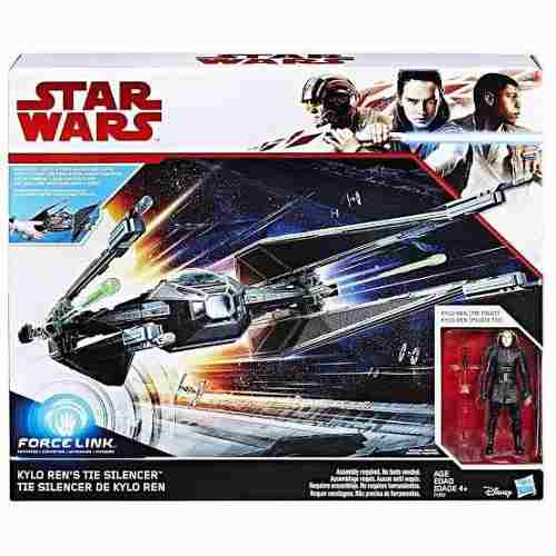 Tie Silencer Kylo Ren Star Wars Force Link Hasbro