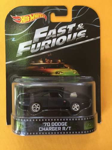 '70 Dodge Charger R/t - Hot Wheels Retro Fast & Furious