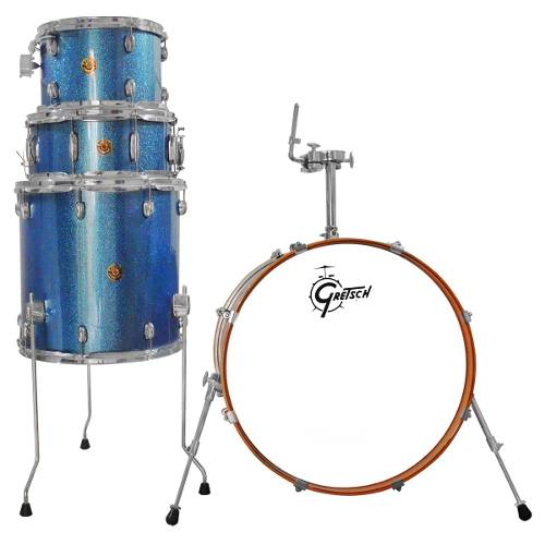 Bateria Gretsch S/stands Catalina. 4pcs Maple 22 Shell Pack