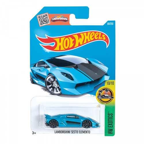 Carrito Hotwheels Basico Auto Blister 1 Pieza Pista Mattel