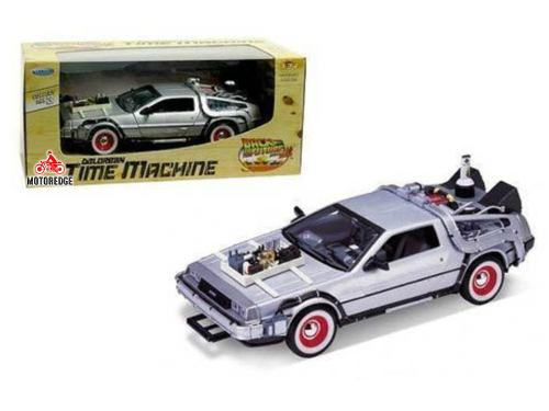 Delorean Time Machine Volver Al Futuro Parte  Welly