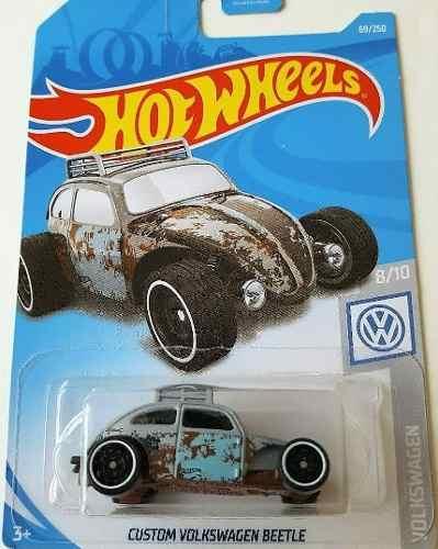 Hot Wheels Custom Volkswagen Beetle  Grey