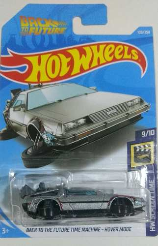 Hot Wheels Volver Al Futuro Time Machine Hover Mode