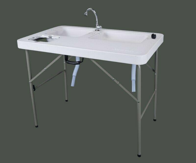 !!Mesa con Gabinete y lavabo blanca¡¡
