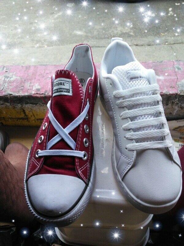 Tenis y zapatos nuevos