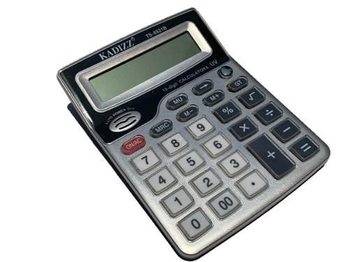 Calculadora Grande Kadizz Con Luz Uv Detectora De Billetes