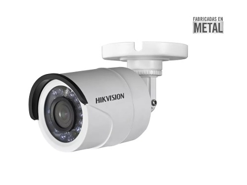 Camara Hikvision Turbohd 720p 2.8mm 1mp Metal 92°