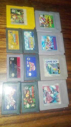 Lote De Juegos De Game Boy